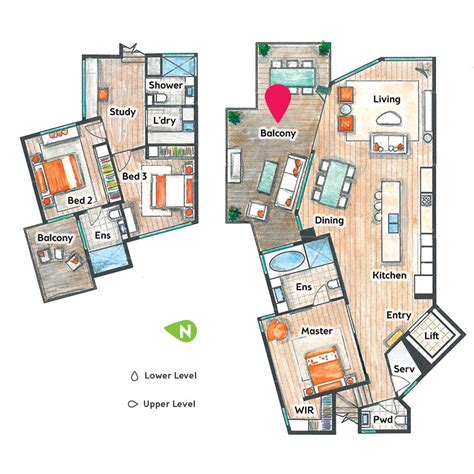 floor plans qld win kirra gold coast or newtown sydney prize home yourtown