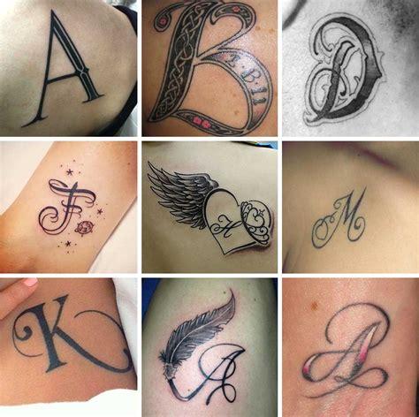 tatuaggi lettere alfabeto tatuaggi lettere 100 foto e idee bellissime beautydea