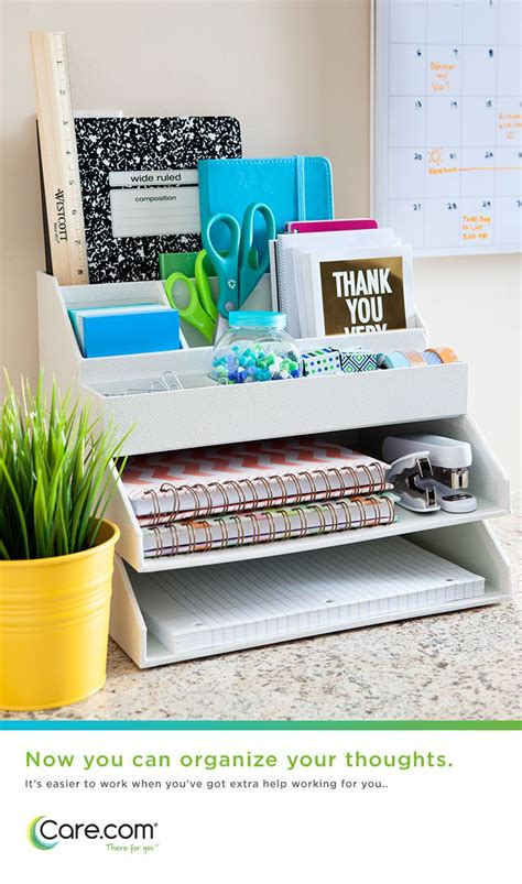 how to organize office desk keep clutter organizing my