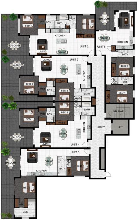 multi unit floor plans 1000 images about plans planos on pinterest bedroom