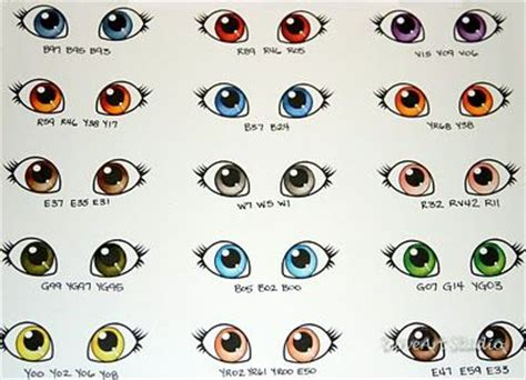 printable eye color chart 14 melhores imagens sobre printables no pinterest bocas