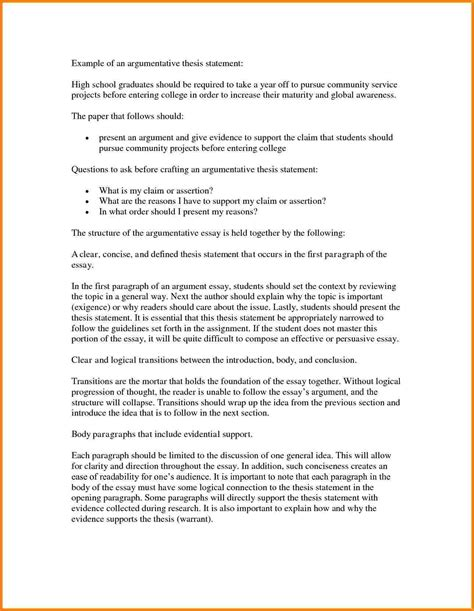 essay writing thesis statement argumentative essay thesis