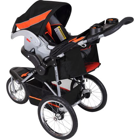 Jogger For Orange baby trend expedition jogger travel system millennium