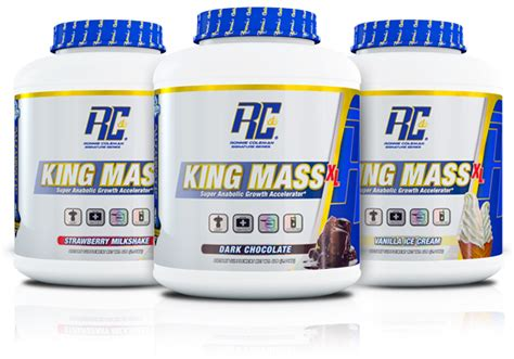 Rc Ronnie Coleman King Mass Xl 15 Lbs Original Formula Kingmass ronnie coleman king mass xl anabolic gainer protein 15 lbs strawberry ebay