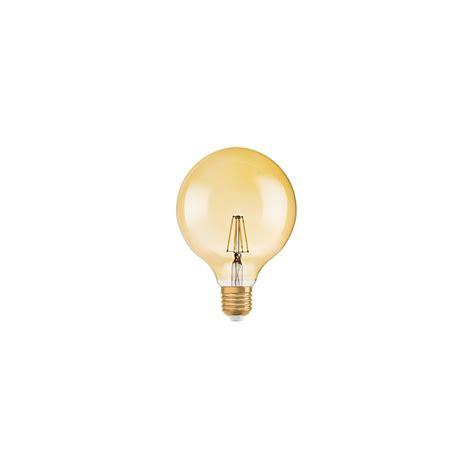 Le Led E27 1906 by Oule Led Filament Globe 1906 7w 50w Gold E27 2700k