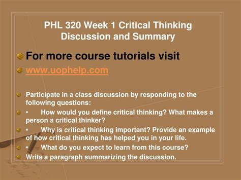 thinking in pictures book summary ppt phl 320 academic coach uophelp powerpoint