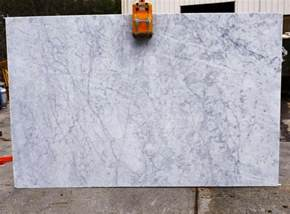 color spotlight white carrara marble granite countertop