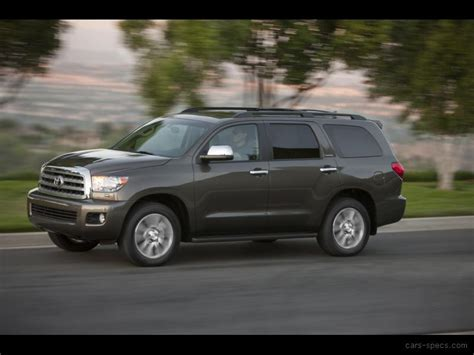 toyota sequoia width 2011 toyota sequoia suv specifications pictures prices