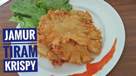 simple  membuat jamur tiram crispy resep masakan
