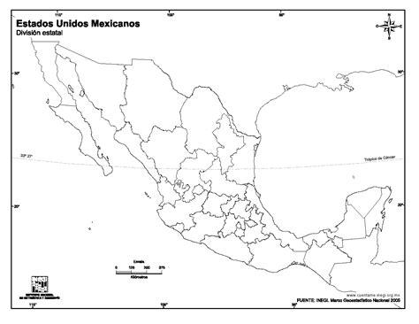 map de mexico y usa mapa para imprimir de m 233 xico mapa mudo de estados unidos