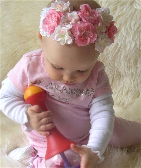 beautiful babies with headbands baby headbands with flowers memes
