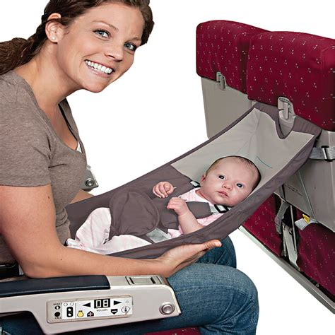 Baby Infant Seat the better infant airplane seat hammacher schlemmer