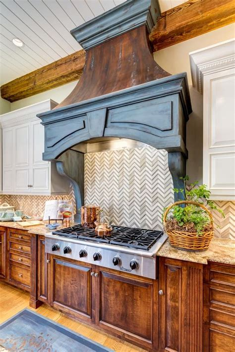 backsplash stove surround for small the o jays chevron and wood cabinets on