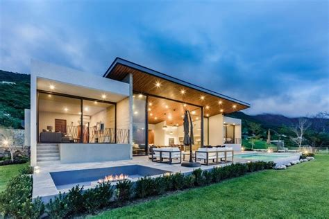 stylish open plan house inspiring freedom  serenity