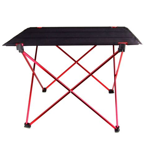 Portable Folding Desk by New Aluminium Alloy Portable Folding Table Foldable Picnic Table Desk For Outdoor Cing In