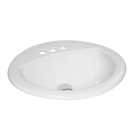 drop in porcelain bathroom sink porcelain ceramic vanity drop in bathroom vessel sink 20