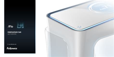 2011 fellowes flo air purifier on behance