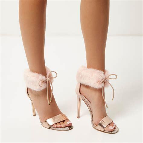 pink sandals heels light pink strappy heels is heel