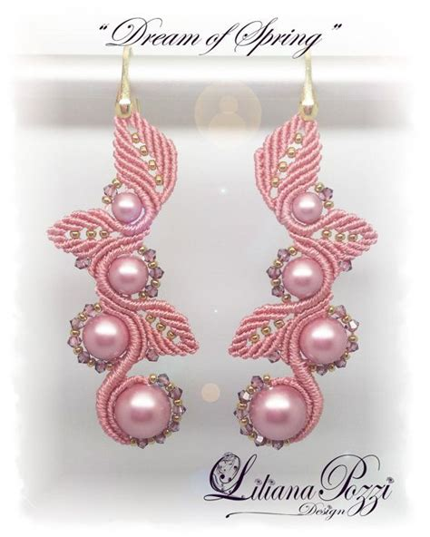 Macrame Pdf - photo tutorial pdf for macram 233 earrings by