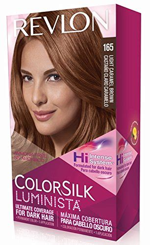 revlon light caramel brown free shipping revlon colorsilk luminista haircolor red