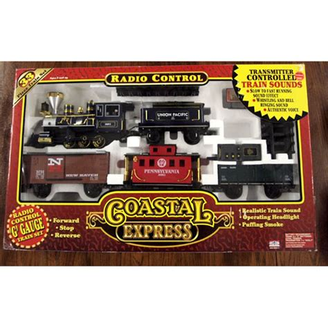 coastal express g gauge radio control train set