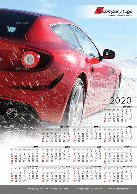poster calendar template  lacroix graphicriver