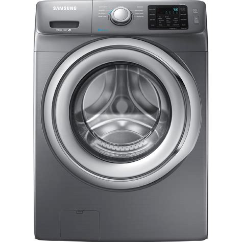 Samsung Washer Samsung Wf42h5200ap 4 2 Cu Ft Front Load Washer W Steam Washing Stainless Platinum
