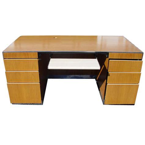 mid century modern davis allen gf office desk secretary ebay