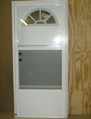 exterior doors mobile homes 36x80 steel door fan window