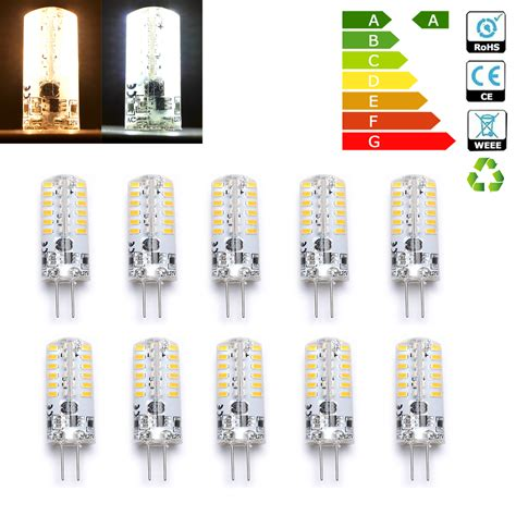 Led Light Bulbs To Replace Halogen Wow G4 Led 3w Bulbs Capsule Bulb Replace Halogen Bulb Ac Dc 12v 48 3014 Smd Ebay