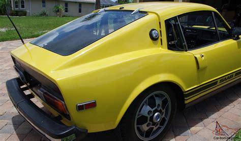 1974 saab sonett iii vintage classic sports car