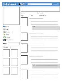 Fakebook Template by Fakebook Template Social Studies