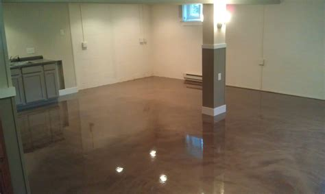 epoxy paint basement floor rooms