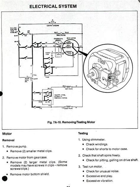 maytag washing machine motor wiring diagram free image