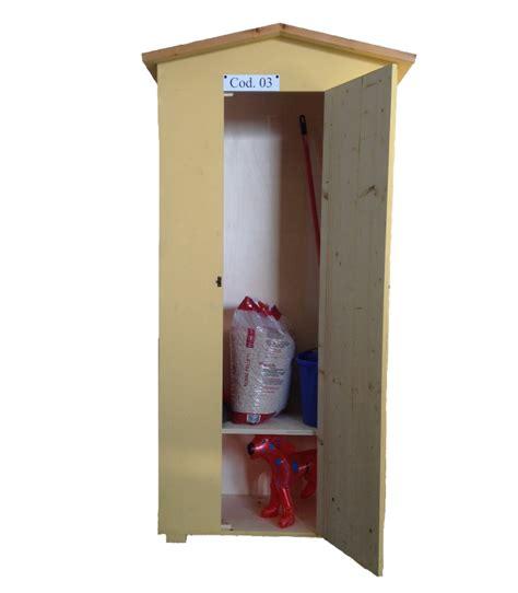 armadio per cani armadio in legno da esterno cod 03 con cuccia per cani o
