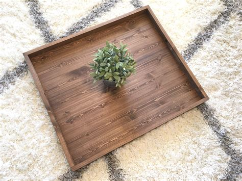 ottoman tray wood rustic wooden ottoman tray ottoman tray wooden tray rustic