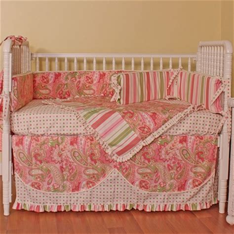 hoohobbers paisley 4 piece baby crib bedding set free shipping