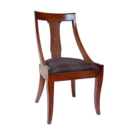 Teak Dining Chairs Upholstered Colonial Burmese Teak Dining Chair With Upholstered Seat