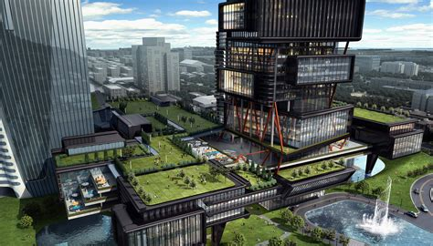 zoomlion headquarters international plaza twin towers