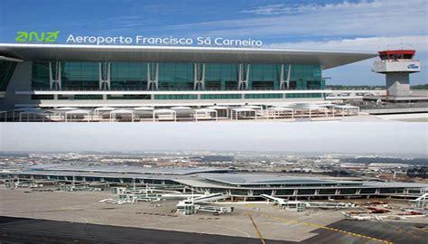 porto aeroporto flugh 228 fen investiert im gep 228 ck s 225 carneiro