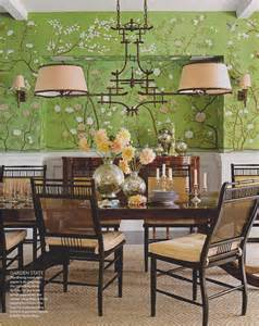 Green Dining Room by The Style Abettor Green Dining Rooms