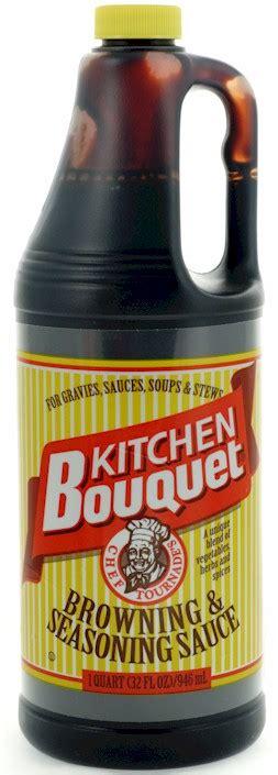 kitchen bouquet browning sauce kitchen bouquet browning seasoning sauce 32 oz