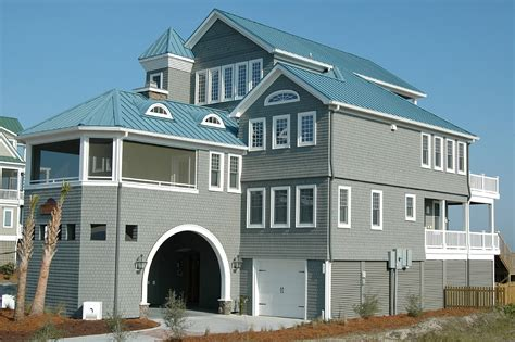 carolina beach house rentals idyll by the sea two luxury vacation rental in north topsail beach north carolina
