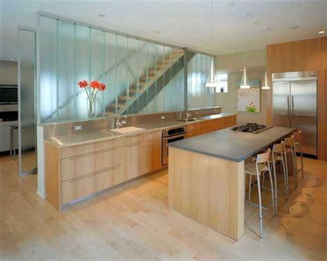Glass Partition Walls For Home by Parede De Vidro Na Cozinha A Dica De Hoje
