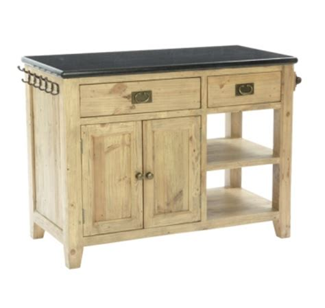 Kitchen Island With Large Drawers Coast Large Island With Granite Top 2 Drawers 4