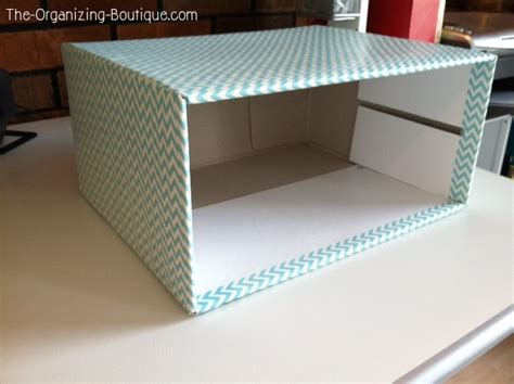 Diy Desk Drawer Diy Home Decor Crafts Desk Drawer Organizer