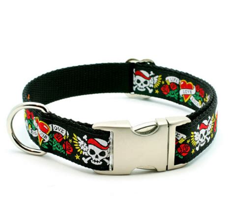 badass collars skull personalized collars and leashes
