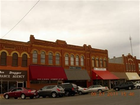 anadarko downtown historic district anadarko ok u s
