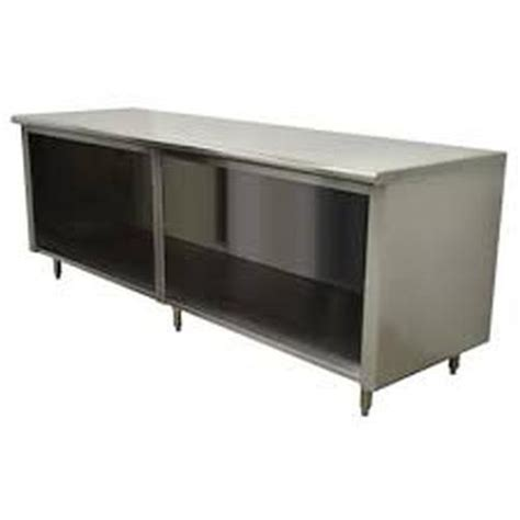 open front storage cabinets advance tabco ef ss 304 advance tabco 48 in open front