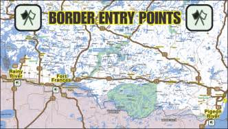 map of us canada border truckin usa canada august 2014
